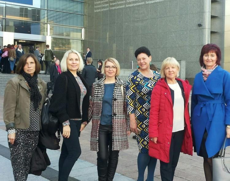 Kelionė į Europos parlamentą Briuselyje